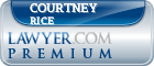 Courtney L. Rice  Lawyer Badge