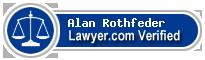 Alan E. Rothfeder  Lawyer Badge