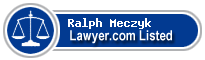 Ralph Meczyk Lawyer Badge