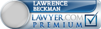 Lawrence J. Beckman  Lawyer Badge