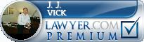 J. J. (Jim) Vick  Lawyer Badge