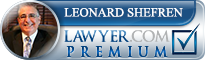 Leonard Wayne Shefren  Lawyer Badge