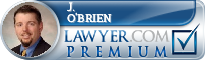 J. Thomas O'Brien  Lawyer Badge