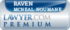 Raven Virginia McNeal-Noumane  Lawyer Badge