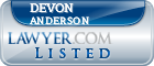 Devon Anderson Lawyer Badge