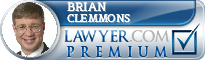 Brian E. Clemmons  Lawyer Badge