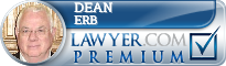 Dean P. Erb  Lawyer Badge
