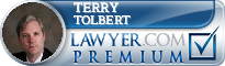 Terry A Tolbert  Lawyer Badge