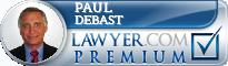 Paul J. DeBast  Lawyer Badge