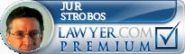 Jur T. Strobos  Lawyer Badge