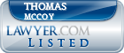 Thomas McCoy Lawyer Badge