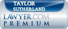 Taylor Sutherland  Lawyer Badge