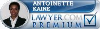 Antoinette R. Kaine  Lawyer Badge