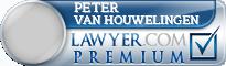 Peter A. van Houwelingen  Lawyer Badge