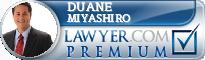 Duane R. Miyashiro  Lawyer Badge