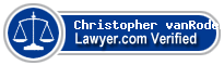 Christopher R. vanRoden  Lawyer Badge