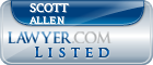 Scott Allen Lawyer Badge
