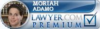 Moriah Adamo  Lawyer Badge