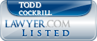 Todd Cockrill Lawyer Badge