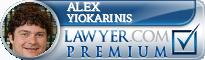 Alex S. Yiokarinis  Lawyer Badge