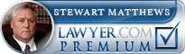 Stewart D. Matthews  Lawyer Badge