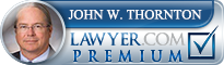 John Thornton  Lawyer Badge
