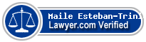 Maile Lani Esteban-Trinidad  Lawyer Badge