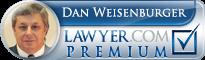 Dan J. Weisenburger  Lawyer Badge