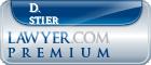 D. Kent Stier  Lawyer Badge