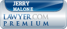 Jerry L. Malone  Lawyer Badge