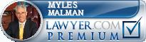 Myles H. Malman  Lawyer Badge