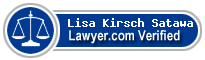 Lisa B. Kirsch Satawa  Lawyer Badge