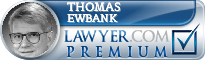 Thomas P. Ewbank  Lawyer Badge