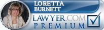 Loretta A. Burnett  Lawyer Badge