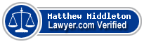Matthew James Middleton  Lawyer Badge