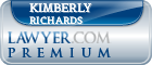Kimberly Richards  Lawyer Badge