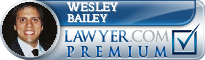 Wesley Ryan Bailey  Lawyer Badge