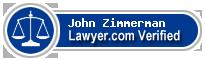 John R. Zimmerman  Lawyer Badge
