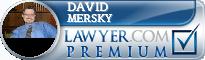 David W. Mersky  Lawyer Badge