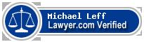 Michael W. Leff  Lawyer Badge