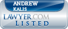 Andrew Kalis Lawyer Badge