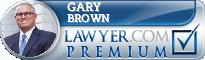 Gary S. Brown  Lawyer Badge