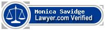 Monica Rathke Savidge  Lawyer Badge