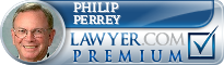 Philip E. Perrey  Lawyer Badge