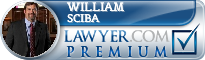 William L. Sciba  Lawyer Badge