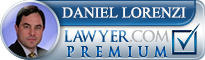 Daniel L. Lorenzi  Lawyer Badge