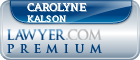 Carolyne S. Kalson  Lawyer Badge