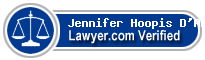 Jennifer Hoopis D'Ambra  Lawyer Badge