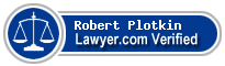 Robert Plotkin  Lawyer Badge
