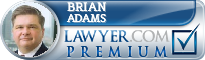 Brian R. M. Adams  Lawyer Badge